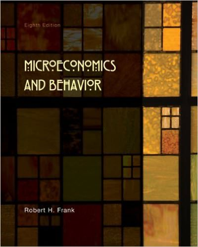 Microeconomics and Behavior Solutions
