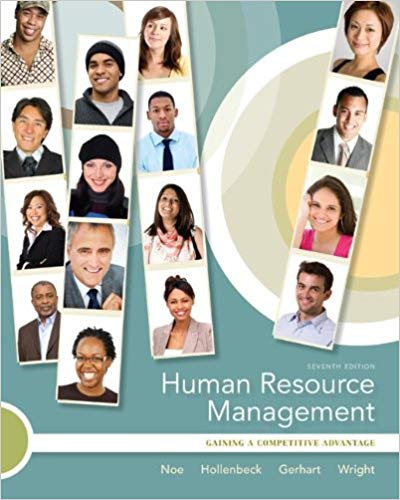 Human Resource Management: Gaining a Competitive Advantage Solutions
