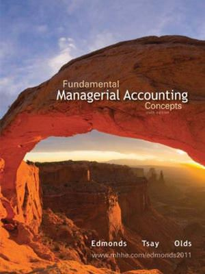 Fundamental Managerial Accounting Concepts Solutions