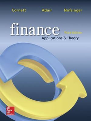 Finance: Applications and Theory Solutions