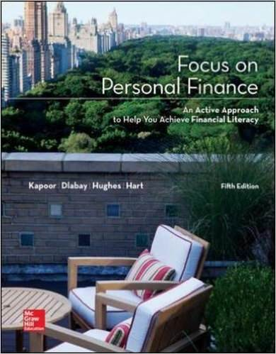 Focus on Personal Finance An Active Approach to Help You Achieve Financial Literacy Solutions