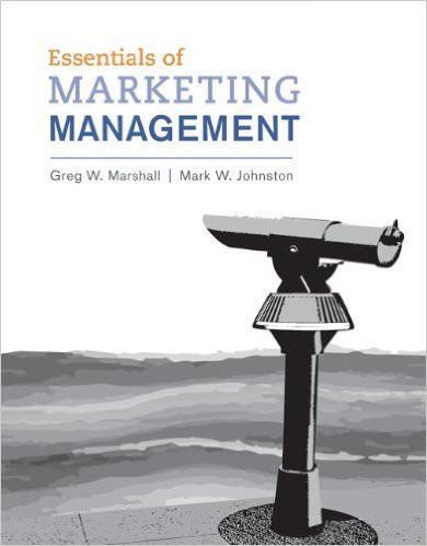 Essentials of Marketing Management Solutions