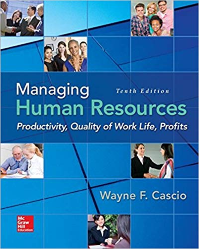 Managing Human Resources: Productivity, Quality of Work Life, Profits Solutions