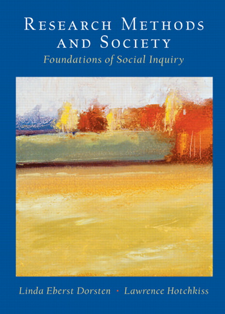 Research Methods and Society: Foundations of Social Inquiry Solutions