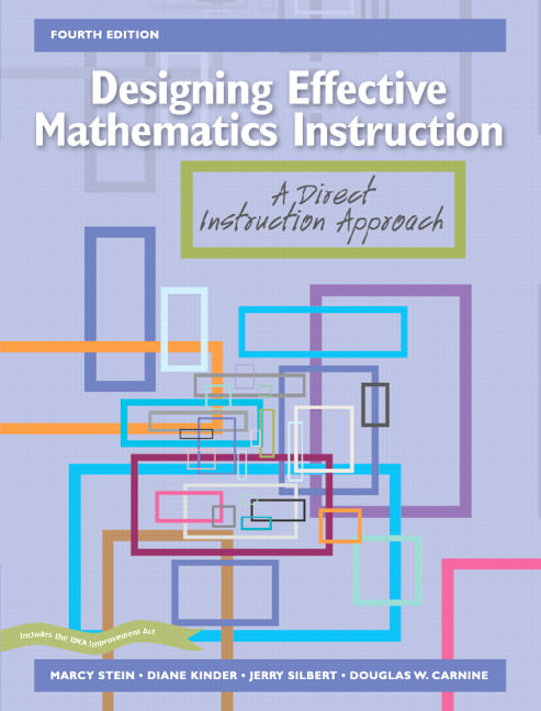 Designing Effective Mathematics Instruction: A Direct Instruction Approach Solutions