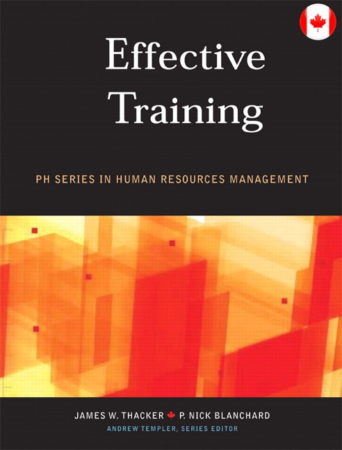 Solutions for Effective Training, Canadian Edition
