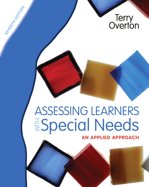 Assessing Learners with Special Needs: An Applied Approach Solutions