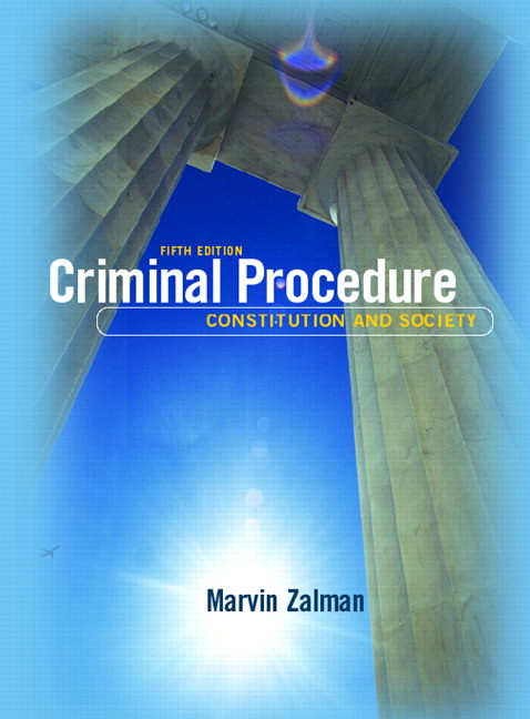 Criminal Procedure: Constitution and Society Solutions