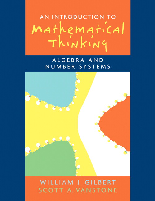 Introduction to Mathematical Thinking: Algebra and Number Systems Solutions