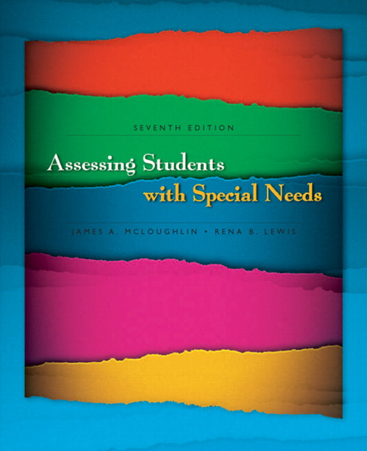 Assessing Students with Special Needs Solutions