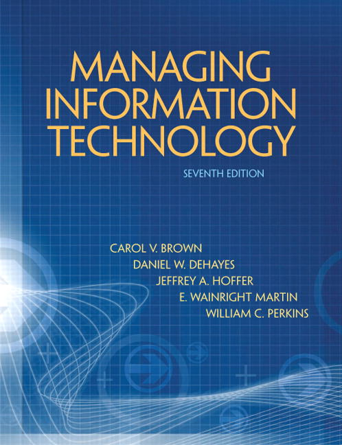 Managing Information Technology Solutions