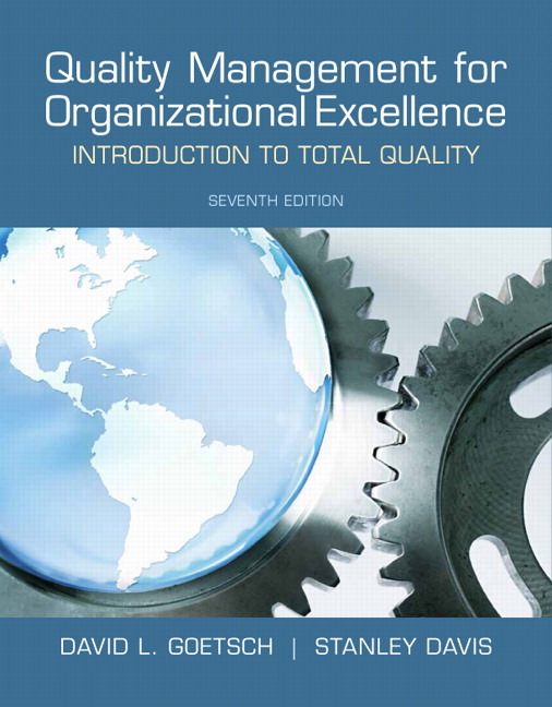 Quality Management for Organizational Excellence: Introduction to Total Quality Solutions