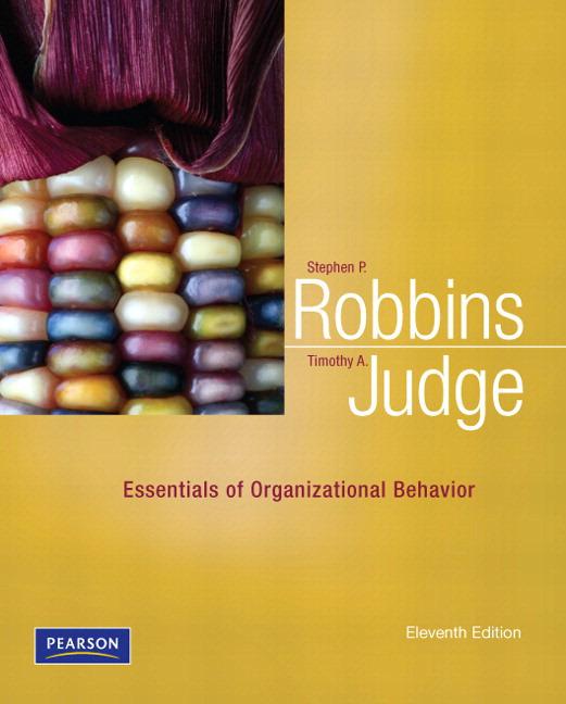 Essentials of Organizational Behavior Solutions
