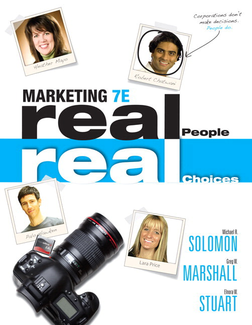 Marketing: Real People, Real Choices Solutions