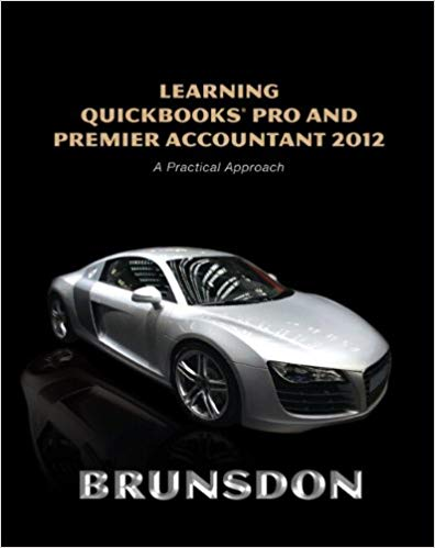 Learning QuickBooks Pro and Premier Accountant 2012 Solutions