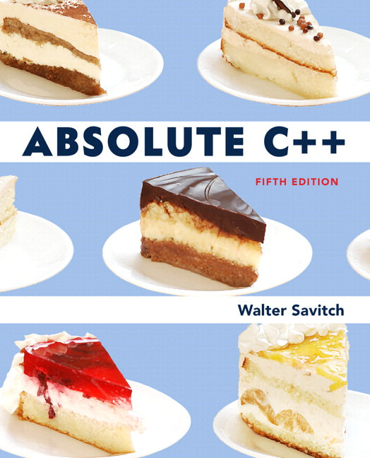 Absolute C++ Solutions