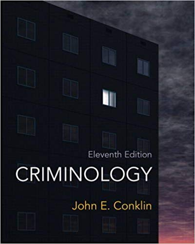 Criminology: A Sociological Understanding Plus MyCrimeKit Solutions