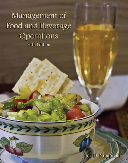 Management of Food and Beverage Operations Solutions
