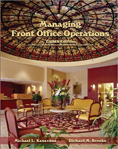 Managing Front Office Operations with Answer Sheet (AHLEI) Solutions