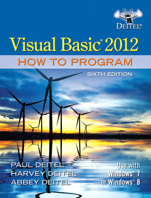 Visual Basic 2012 How to Program Solutions