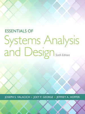 Essentials of Systems Analysis and Design Solutions