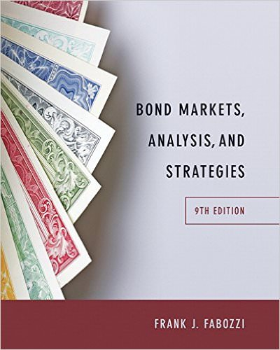 Bond Markets, Analysis, and Strategies Solutions