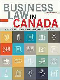 Business Law in Canada Solutions