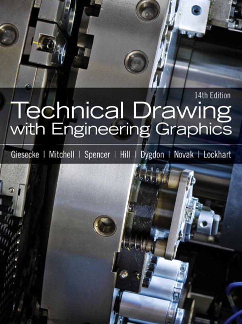 Technical Drawing with Engineering Graphics Solutions