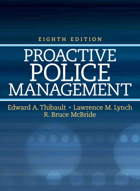 Proactive Police Management Solutions