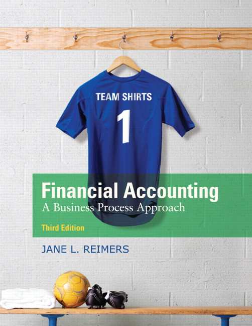 Financial Accounting: A Business Process Approach Solutions