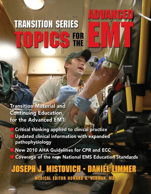 Transition Series: Topics for the Advanced EMT Solutions