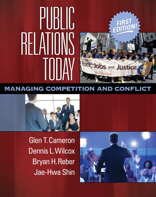 Public Relations Today: Managing Competition and Conflict Solutions