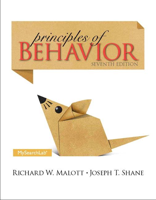 Principles of Behavior Solutions