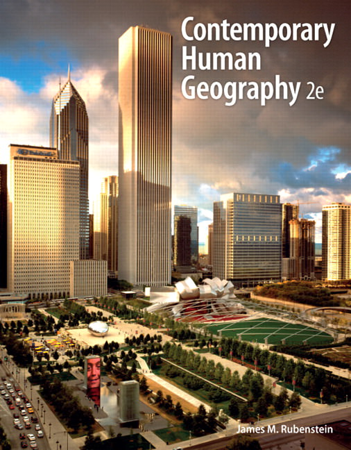Contemporary Human Geography Solutions