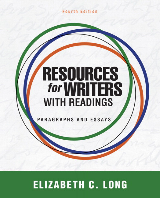 Resources for Writers with Readings: Paragraphs and Essays Solutions