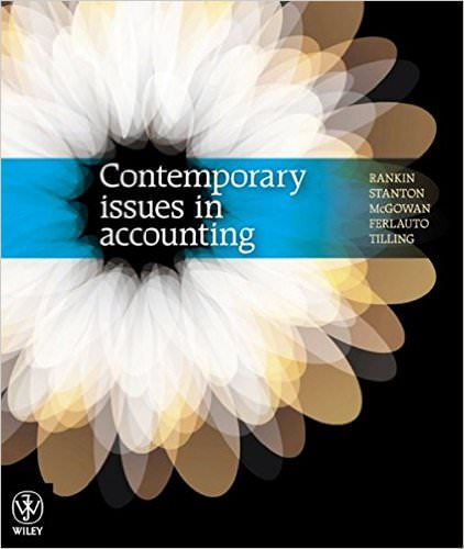 Contemporary Issues in Accounting Solutions