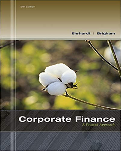 Corporate Finance: A Focused Approach Solutions