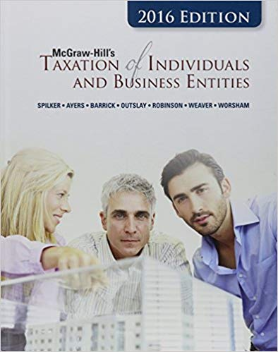 McGraw-Hill's Taxation of Individuals and Business Entities Solutions