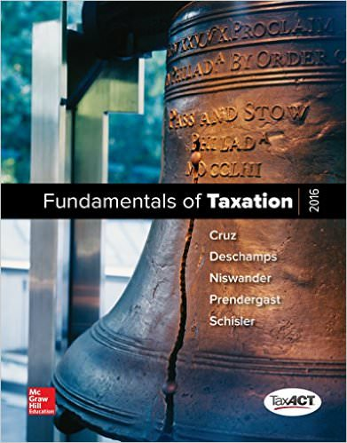 MP Fundamentals of Taxation Solutions