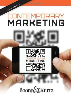 Contemporary Marketing, Update 2015 Solutions