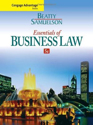 Cengage Advantage Books: Essentials of Business Law Solutions