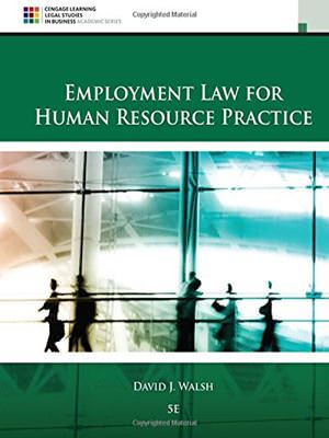 Employment Law for Human Resource Practice Solutions