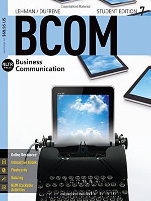 Solutions for BCOM 7, 7th Edition