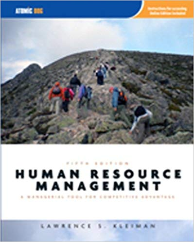 Human Resource Management: Managerial Tool for Competitive Advantage Solutions