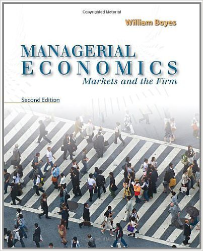 Managerial Economics Book Only Solutions